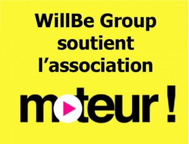 WillBe Group, fier d'être partenaire de l'association Moteur!