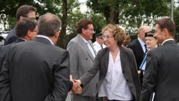 La ministre du travail, Muriel Pénicaud, rend visite à l'entreprise CAIB