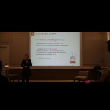 Conférence «Les Communautés de Pratiques en entreprises : retours d'expériences et perspectives»