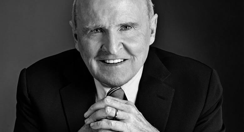 Jack Welsh, le legendaire PDG de GE de 1980 à 2000