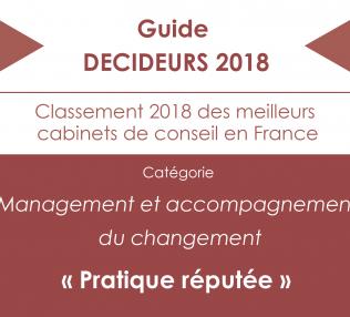 WillBe Group classé dans le Guide DECIDEURS 2018