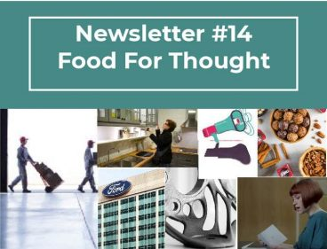 Newsletter #14 – Food For Thought