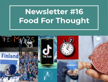 Newsletter #16 – Food for Thought